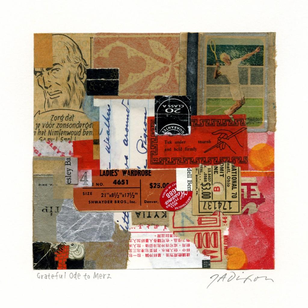 Connu The Collage Miniaturist » G Braque GT17