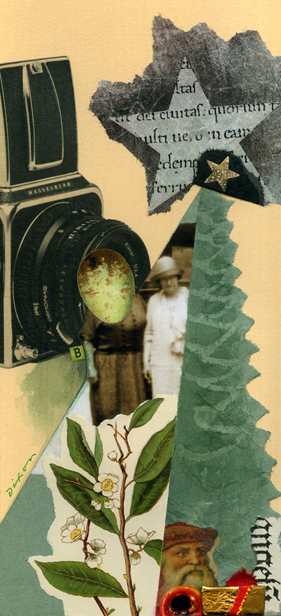 collage greeting card by John Andrew Dixon