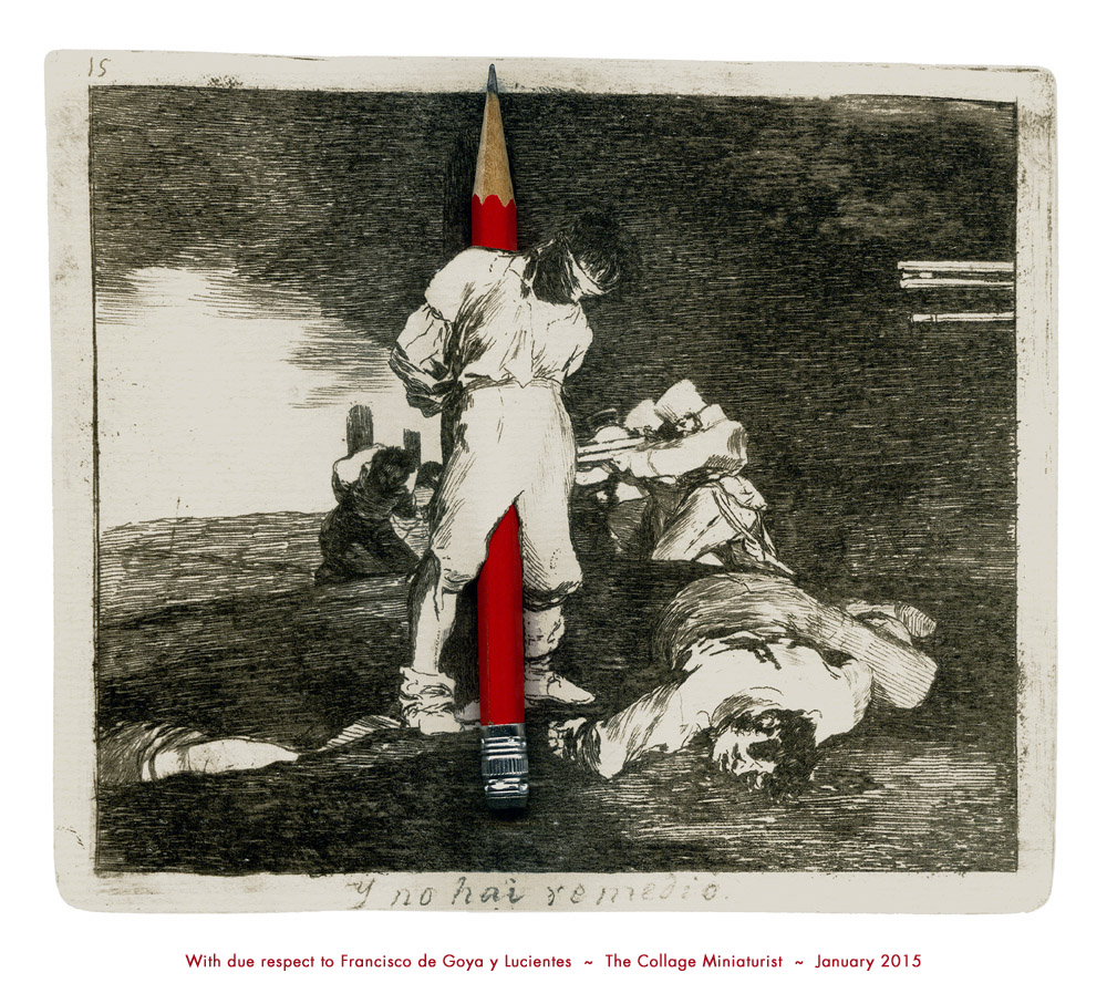 With due respect to Francisco de Goya y Lucientes ~ John Andrew Dixon