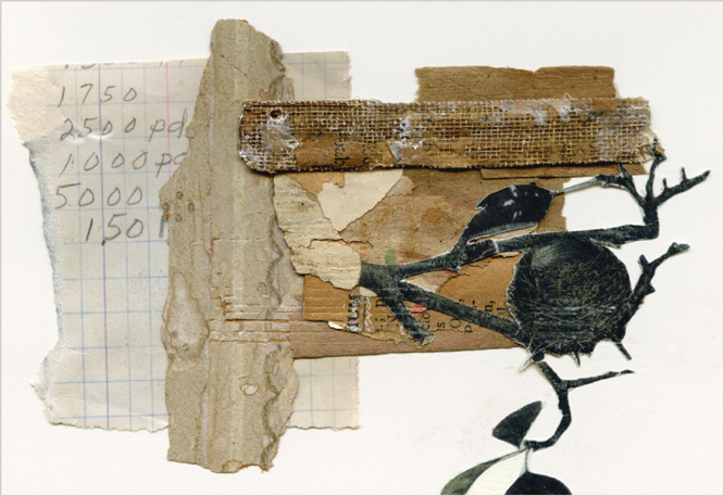 mail art detail ~ Nancy Gene Armstrong