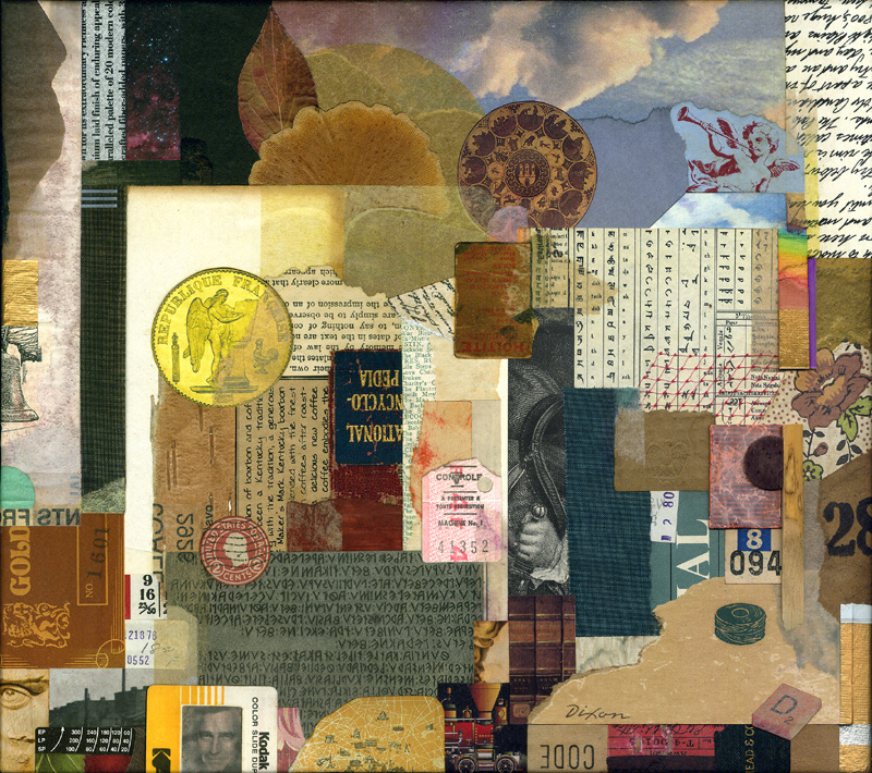 Selective Fusion ~ John Andrew Dixon, collage artist