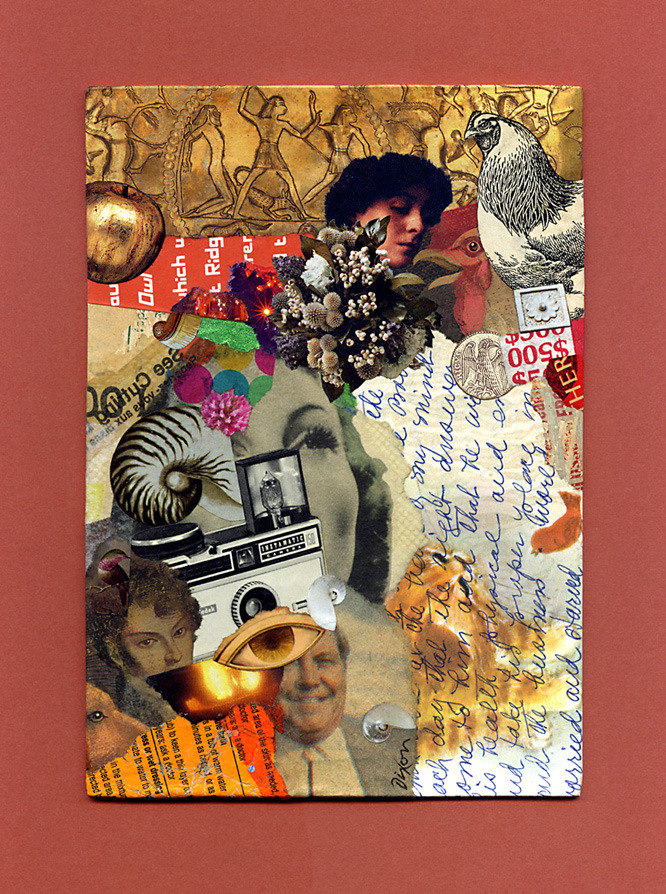 Core Memories ~ collage miniature by John Andrew Dixon