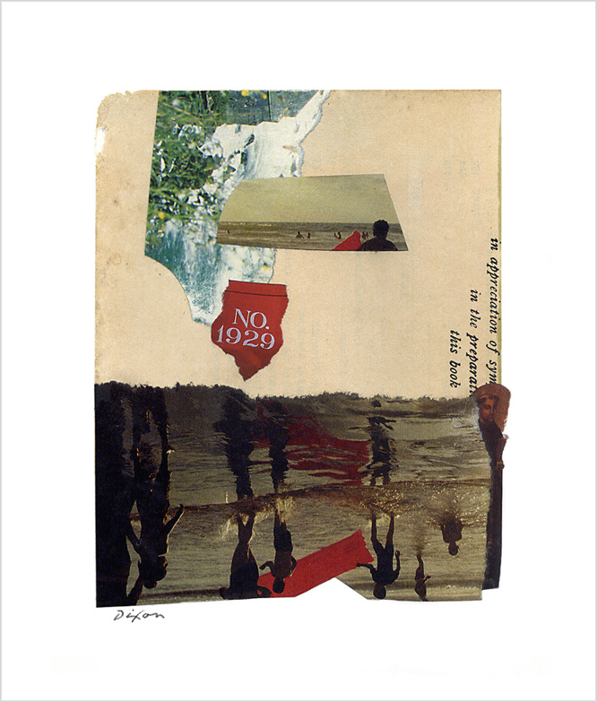Untitled (NO. 1929) ~ John Andrew Dixon, collage artist, blogger on all things collage