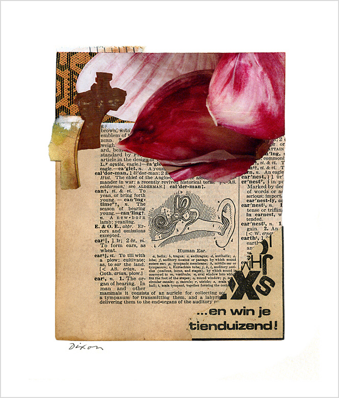 Untitled (...en win je tienduizend!) ~ John Andrew Dixon, collage artist, blogger on all things collage
