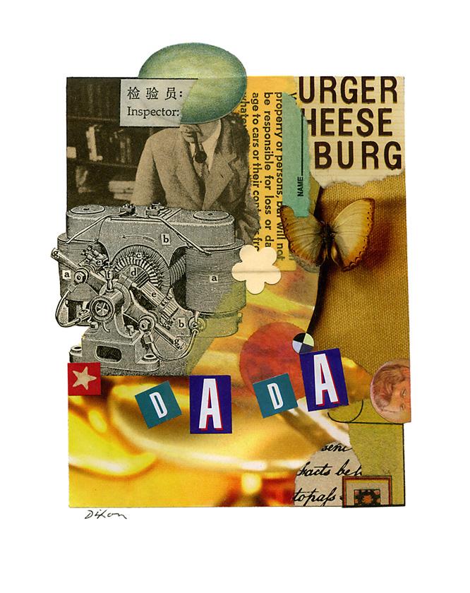 Dada 100 (URGER HEESE BURG) ~ J A Dixon