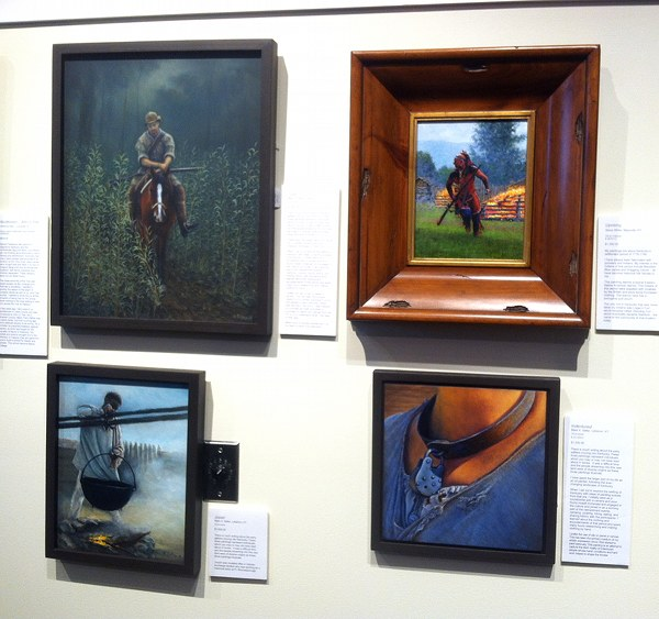 paintings by Mark Selter and others at '225: Artists Celebrate Kentucky's History'