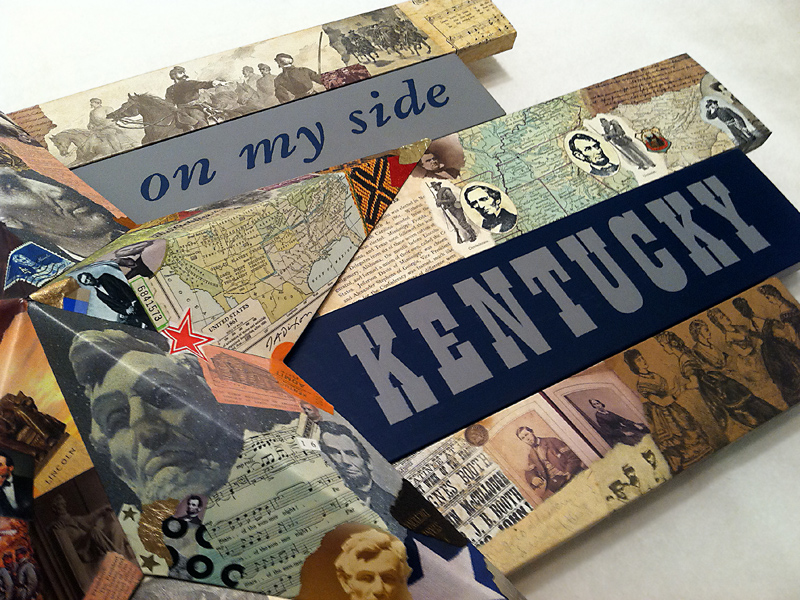 detail from 'I Must Have Kentucky' by John Andrew Dixon, Danville, Kentucky