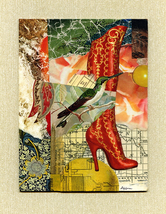 That Red Boot ~ J A Dixon
