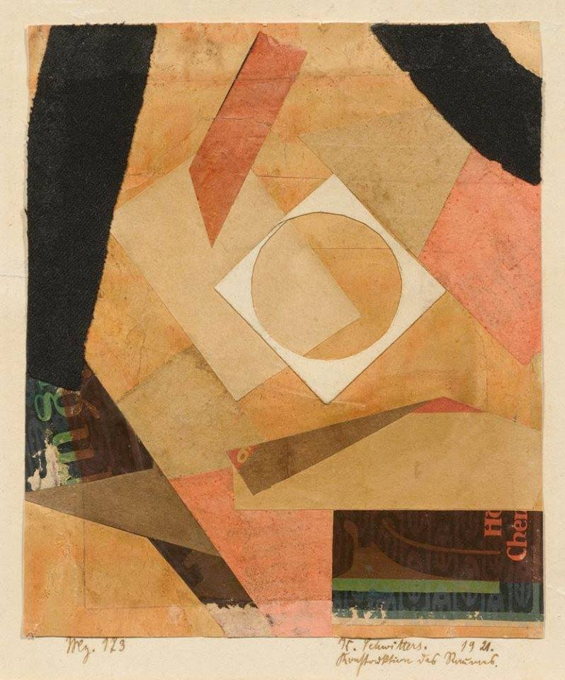 Construction of Space ~ K Schwitters, 1921