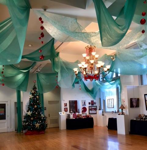 Holiday Market at the Community Arts Center, Danville, Kentucky ~ featuring the artwork of John Andrew Dixon