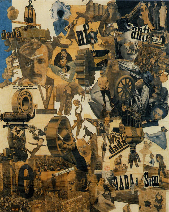 Cut with the Dada Kitchen Knife through the Last Weimar Beer-Belly Cultural Epoch in Germany ~ Hannah Höch