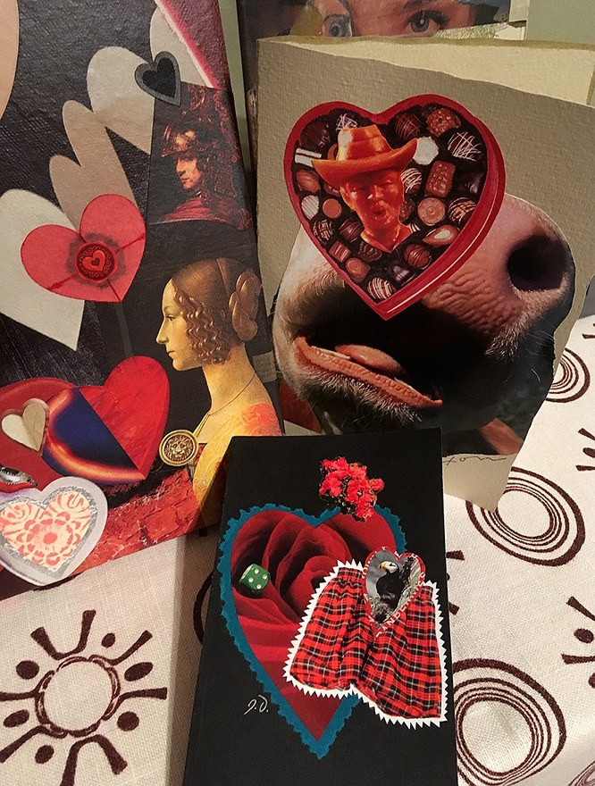 Valentines by John's Haus of Cards!