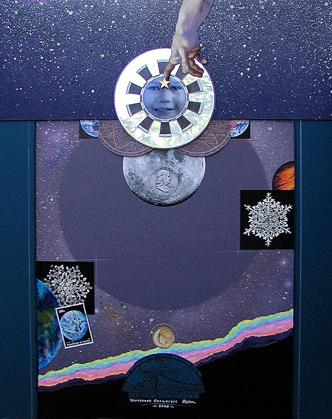 Thirteenth Cosmosaic ~ J A Dixon