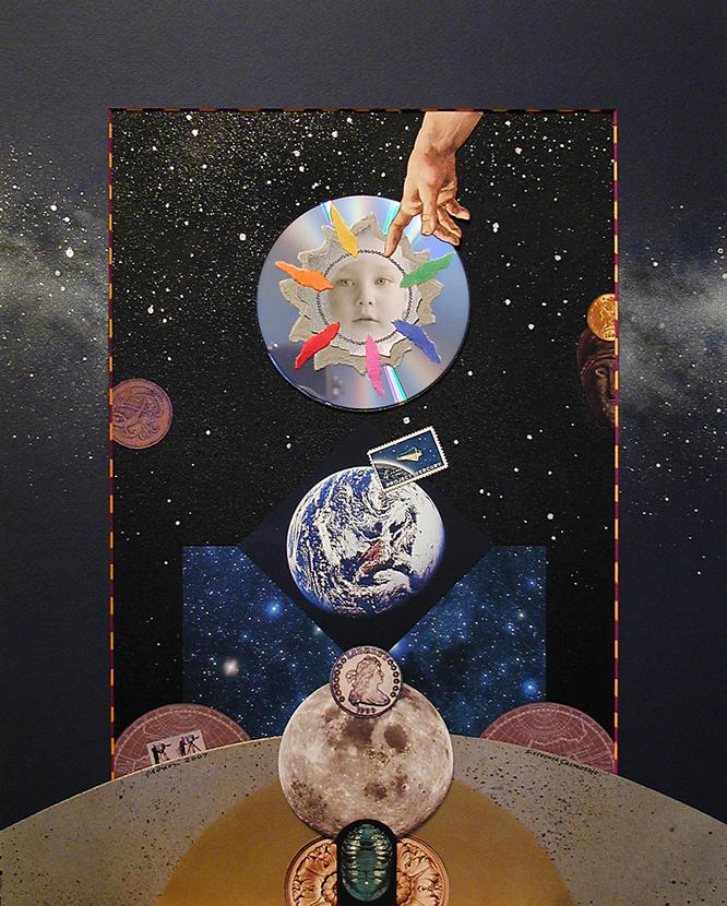 Sixteenth Cosmosaic ~ J A Dixon