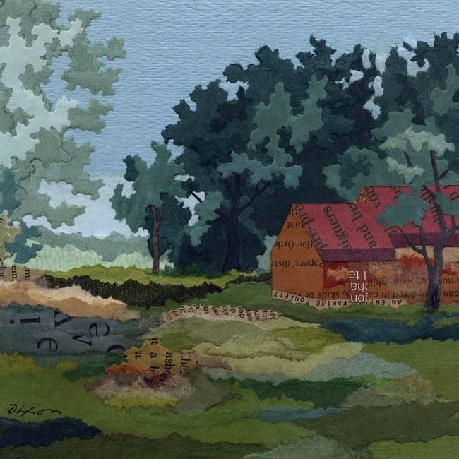 Old Quarters (detail) ~ J A Dixon
