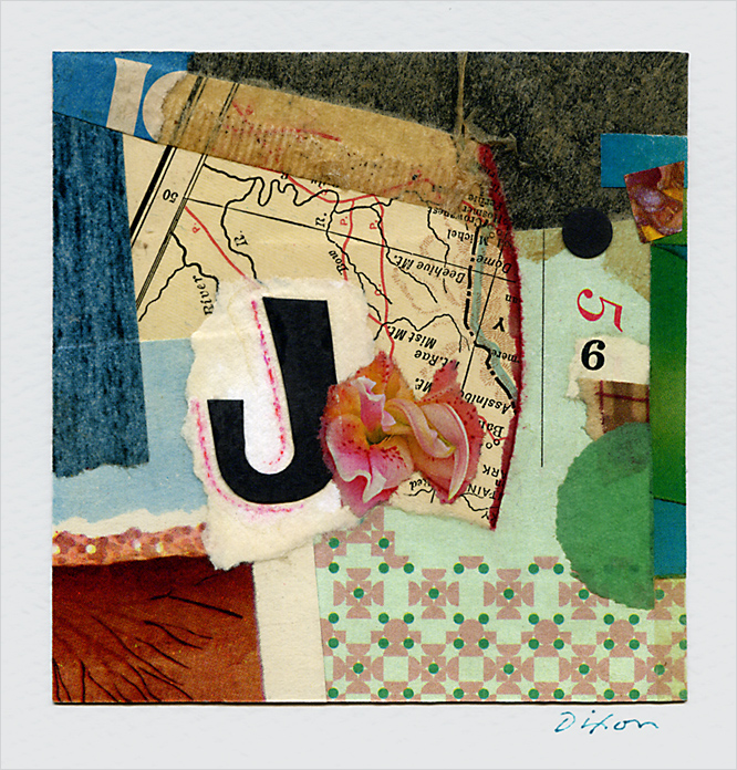 collage greeting card by John's Haus of Cards!